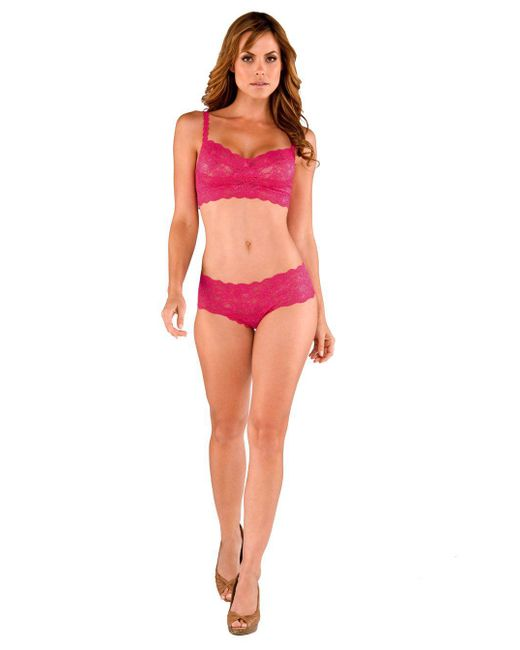 Cosabella - Pink Never Say Never Hottie™ Lace Hotpant - Lyst