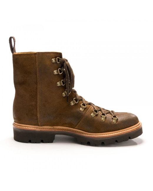 3639d9ae6ca Lyst - Grenson Brady Snuff Burnish Suede Mens Ski Boot in Brown for ...