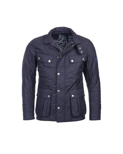 Barbour Ariel Mens Quilt Jacket In Blue For Men Lyst