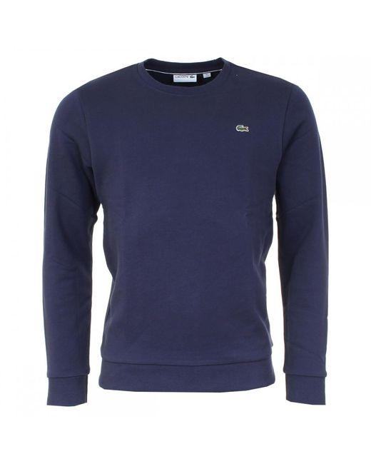 Lacoste | Blue Classic Mens Sweatshirt (sh1924) for Men | Lyst