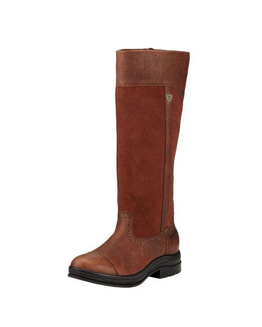 Ariat - Brown Ennerdale H2o Ladies Boot - Lyst