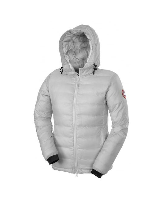 Canada Goose - Gray Camp Ladies Hoody - Lyst