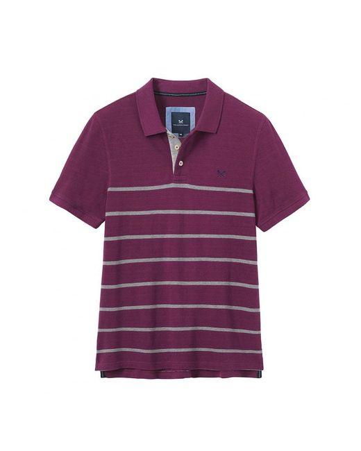 Crew - Purple Roxby Polo for Men - Lyst