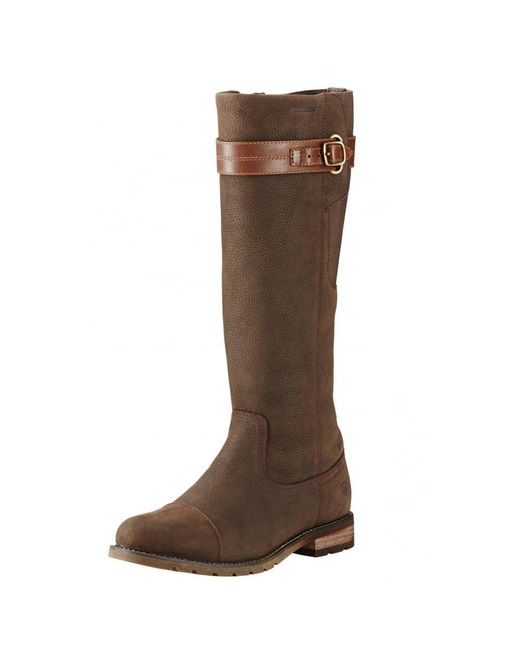 Ariat - Brown Stoneleigh H2o Ladies Boot - Lyst