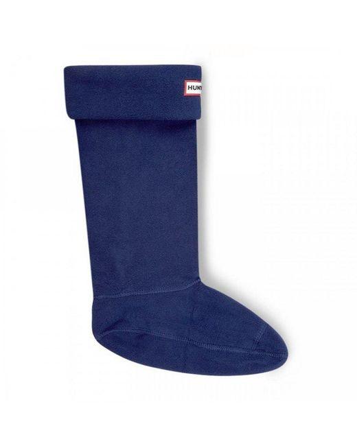 Hunter - Blue Boot Socks for Men - Lyst