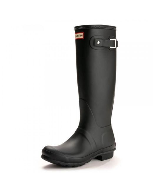 Hunter - Black Original Tall Ladies Wellington Boots - Lyst