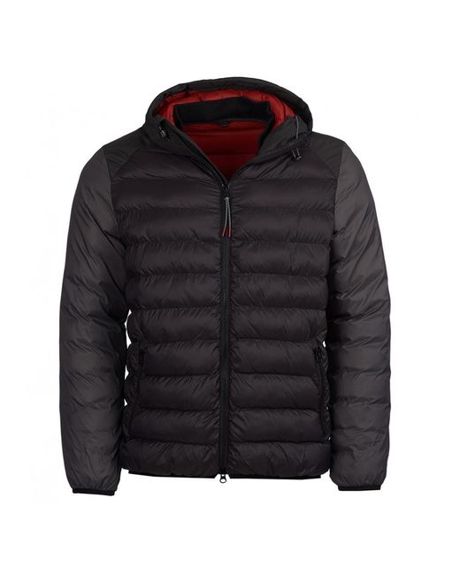 Barbour - Black Jib Quilted Mens Jacket for Men - Lyst