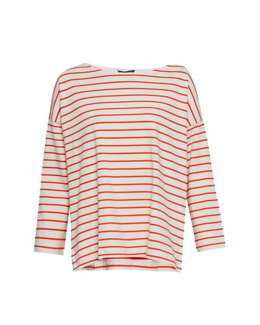French Connection - Multicolor Spring Tim Tim Long Sleeve Round-neck Womens Top - Lyst