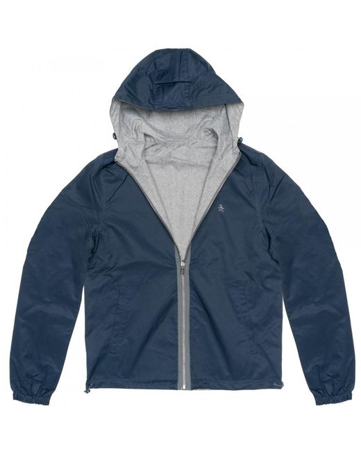 Original Penguin - Blue Reversible Mens Jacket for Men - Lyst