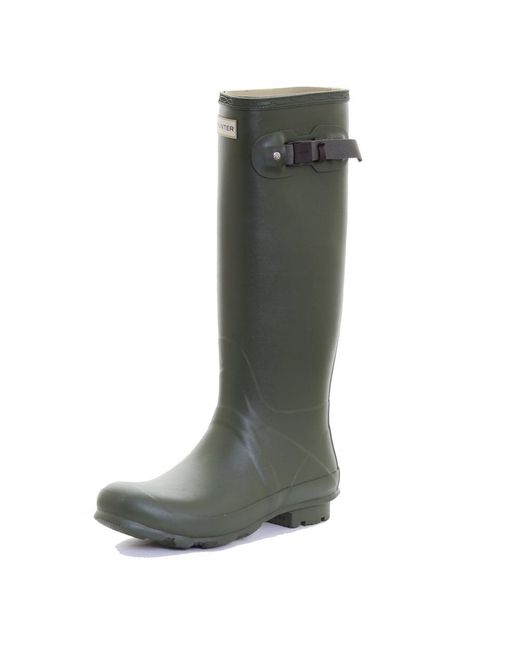 Hunter | Green Norris Field Neoprene Lined Ladies Boot | Lyst