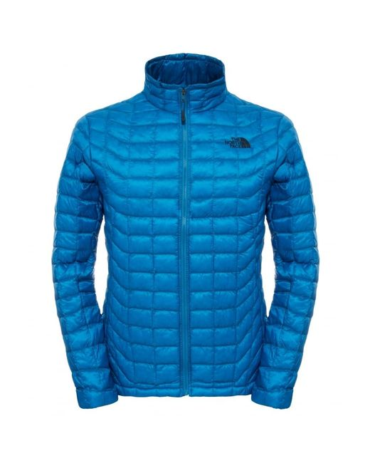 The North Face | Blue Thermoball Mens Full Zip Jacket for Men | Lyst