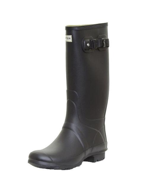 Hunter | Black Field Huntress Ladies Boot | Lyst