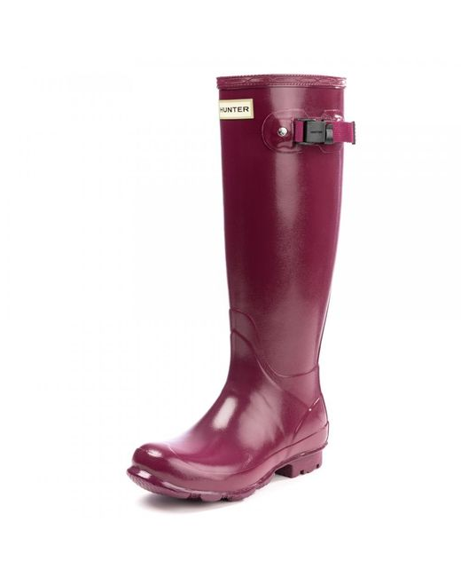 Hunter - Red Norris Field Gloss Ladies Boot - Lyst