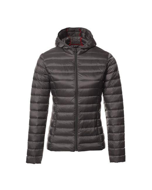 J.O.T.T - Gray Cloe Womens Hooded Jacket - Lyst
