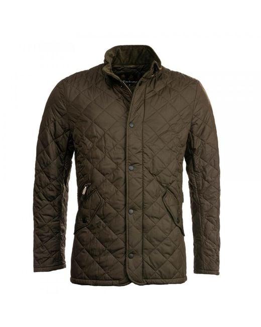 Barbour - Green Chelsea Sportsquilt for Men - Lyst