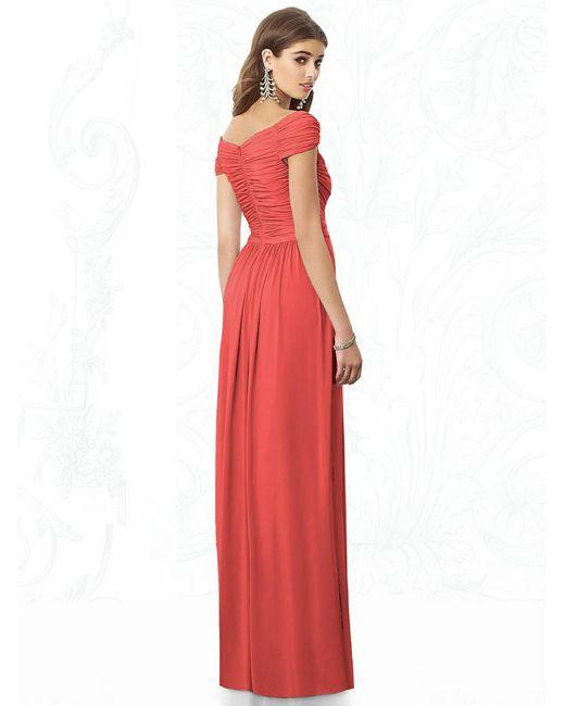 After Six | Red Dress In Firecracker | Lyst