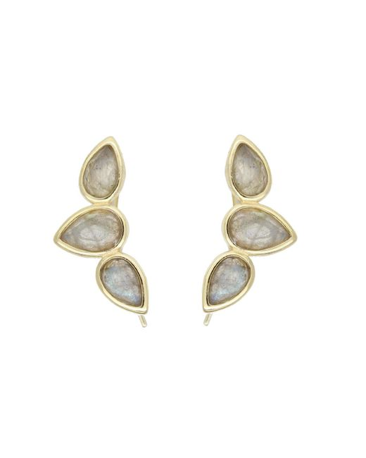 Rachael Ryen | Metallic Teardrop Wing Pins - Labradorite | Lyst