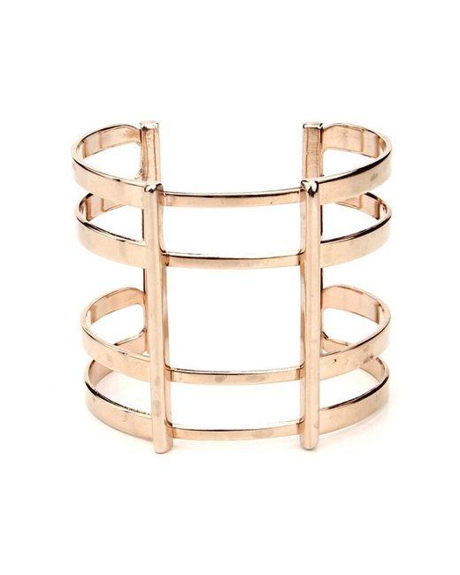 Ben-Amun | Metallic Golden Cage Cuff | Lyst