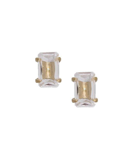 Rachael Ryen - Metallic Crystal Quartz Prong Stud - Lyst