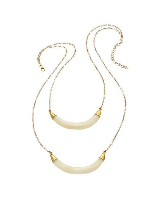 Heather Hawkins - White Moonrise Necklace - Lyst