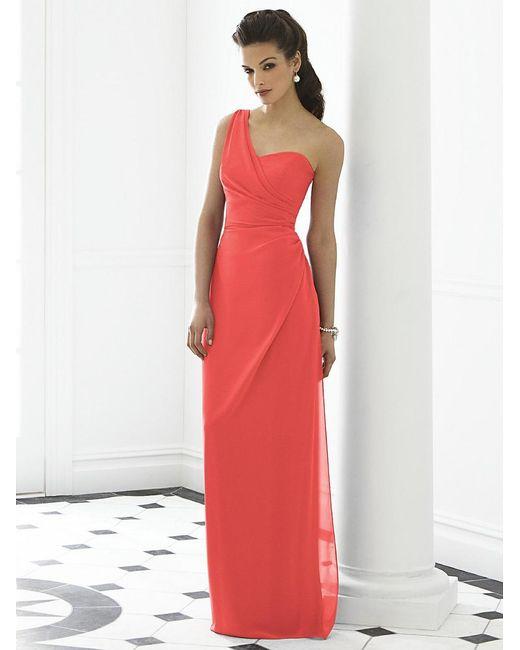 After Six - Multicolor Dress In Firecracker - Lyst