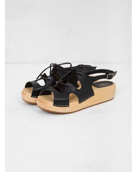 Swedish Hasbeens Lace-Up Sandal 2Hmw5J
