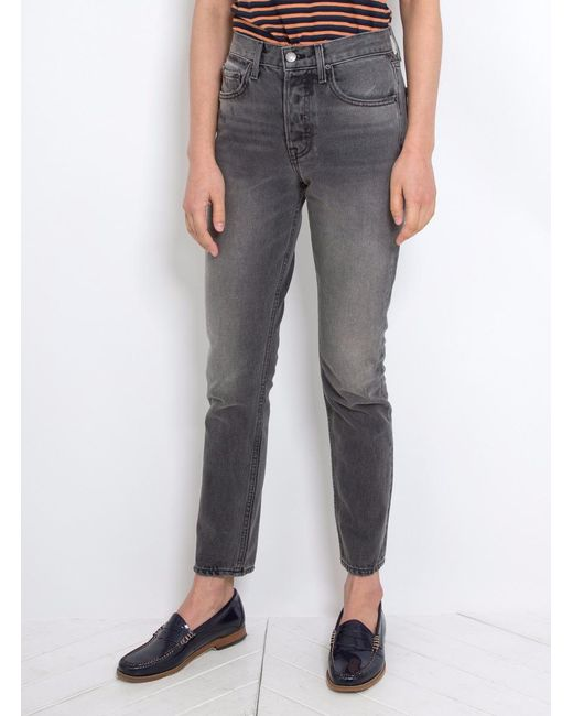 GRLFRND | Gray Karolina High-rise Skinny Jean | Lyst