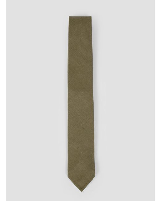 Gitman Brothers Vintage | Green Twill Tie for Men | Lyst
