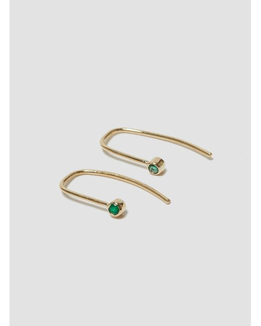 Grace Lee - Multicolor Bezel Hook Earrings - Lyst
