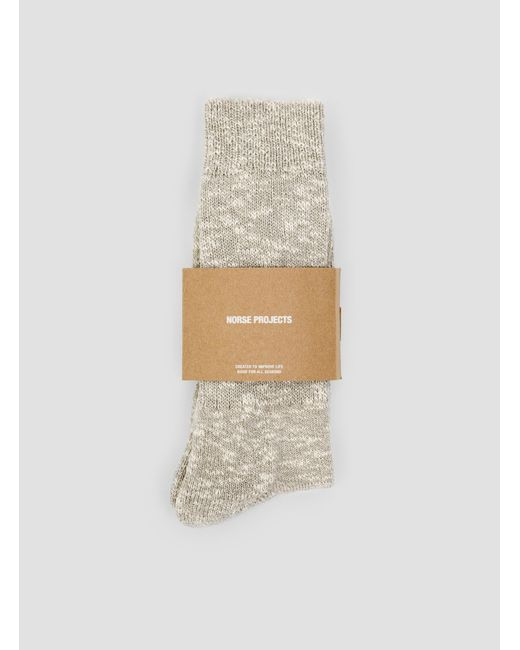 Norse Projects | Multicolor Ebbe Melange Rib Socks | Lyst
