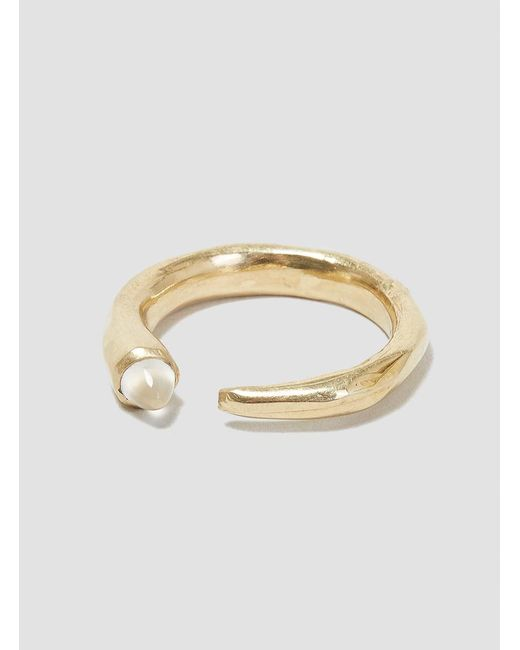 Odette New York | Metallic Moonstone Metis Ring | Lyst