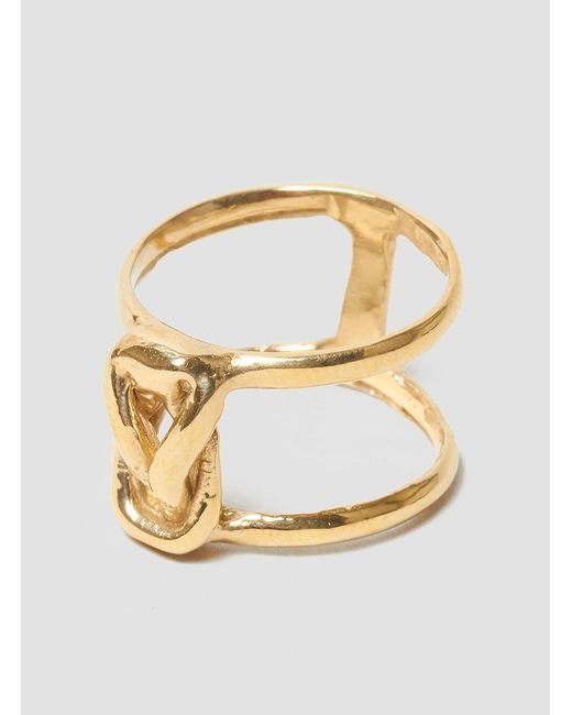 Odette New York | Multicolor Stacked Lovers Knot Ring | Lyst
