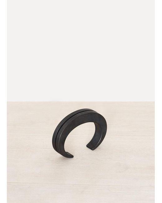 Parts Of 4   Crescent Crevice Bracelet Black Sterling for Men   Lyst