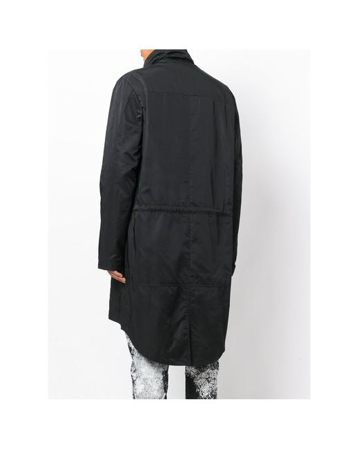 Lost and found rooms Drawstring Parka in Black for Men | Lyst