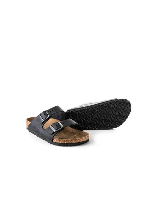 5393e36ba1e4 ... Birkenstock - Arizona Oiled Nubuck Black for Men - Lyst ...