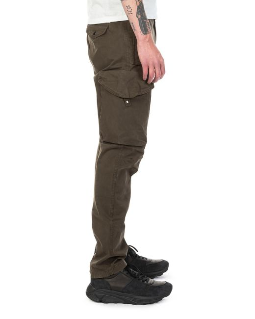 5d27d50058424 C P Company Cargo Pant Satin Olive Night in Green for Men - Lyst