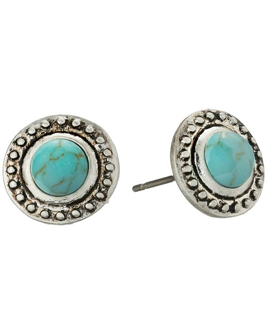 Sam Edelman | Metallic Textured Collar Stud Earrings | Lyst