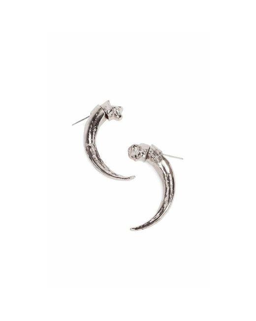 Pamela Love | Metallic Single Eagle Claw Earring | Lyst