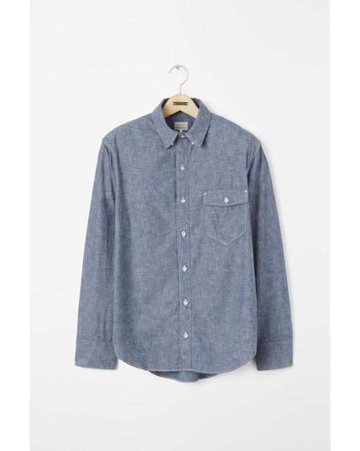 Rag & Bone | Blue Standard Issue Shirt for Men | Lyst
