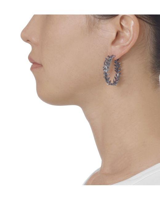 Katherine Jetter | Black Diamond Fern Earrings | Lyst