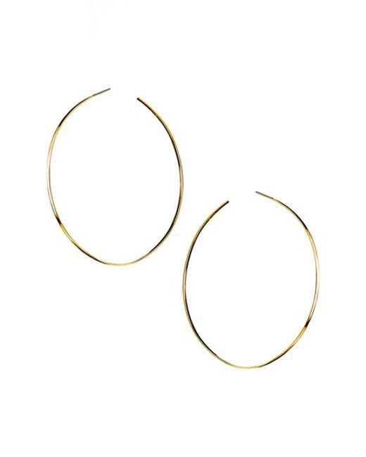 Lana Jewelry   Metallic 'mega' Hoop Earrings   Lyst