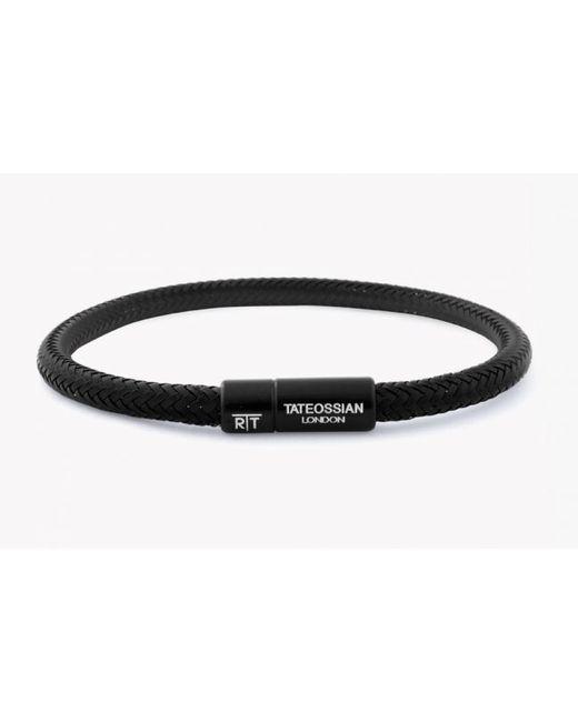Tateossian | Soho Bracelet In Black Copper Wire for Men | Lyst