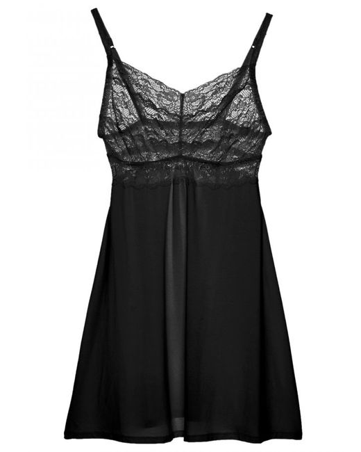 Cosabella | Black Never Say Never Extended Babydoll | Lyst