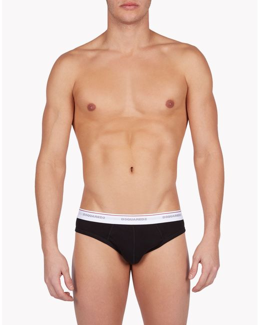 DSquared² | Black Briefs for Men | Lyst