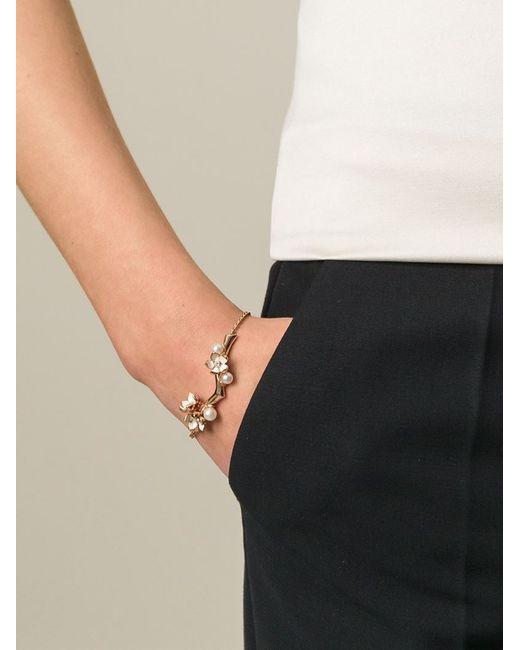 Shaun Leane   Metallic 'cherry Blossom' Diamond Bracelet   Lyst