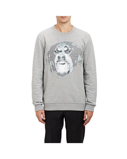 Givenchy | Gray Rottweiler-graphic Sweatshirt for Men | Lyst