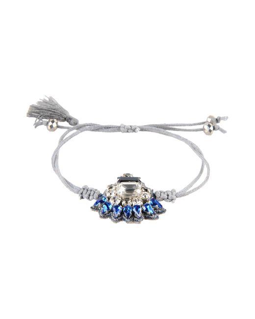 Deepa Gurnani | Gray Bracelet | Lyst