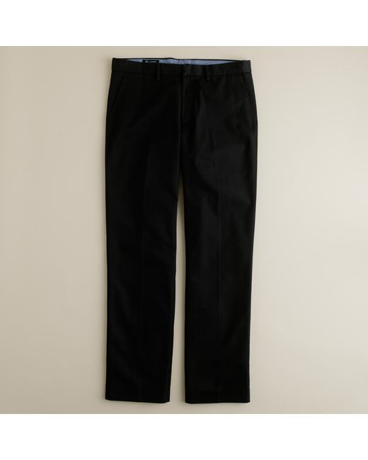 J.Crew | Black Bowery Classic Pant In Cotton Twill for Men | Lyst
