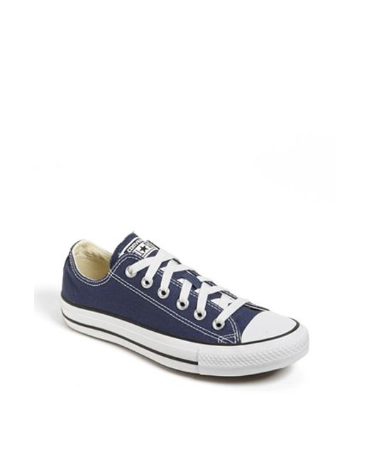 Converse | Blue Chuck Taylor Low Top Sneaker | Lyst