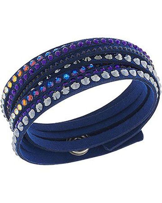 Swarovski | Blue Slake Deluxe Bracelet | Lyst